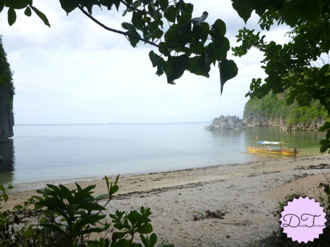 Tinago island. Tinago means hidden.
