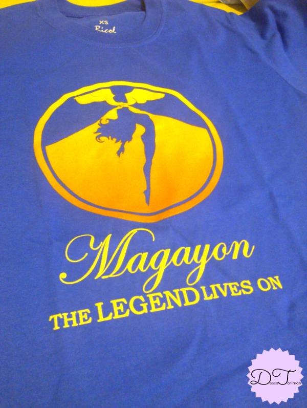 I bought this shirt from their store. Magayon means beautiful :) Mt. Mayon is named as such because of its beautiful, almost symmetrical form.