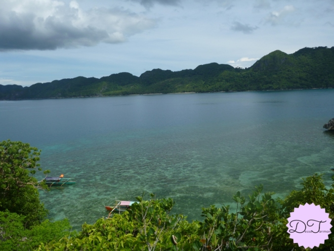 A view from one of the islands in Caramoan -- the place where Survivor took place.