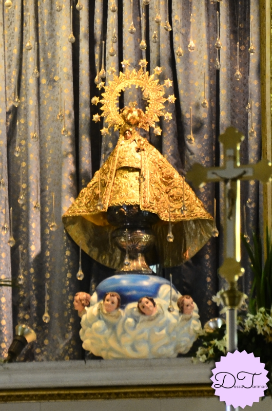 The image of Our Lady of Peñafrancia