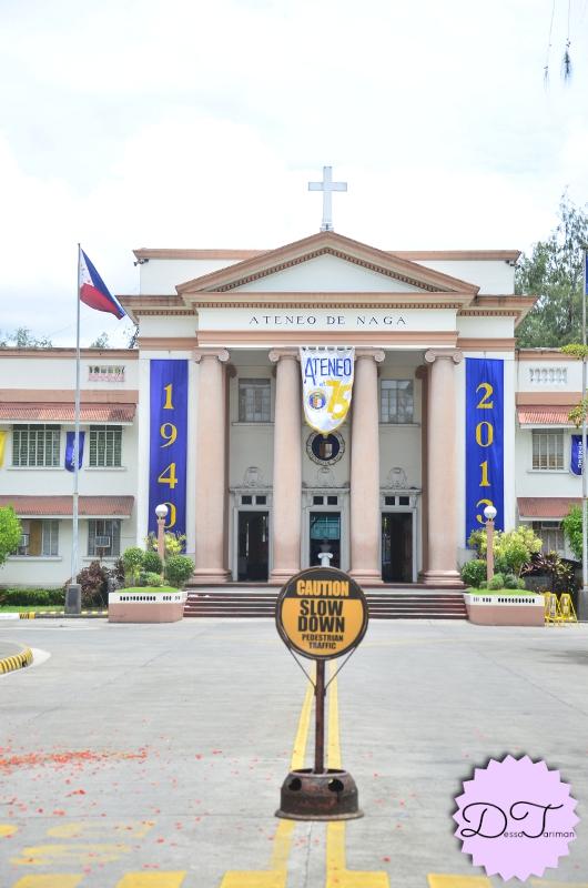 Ateneo de Naga. My mom's alma mater :)